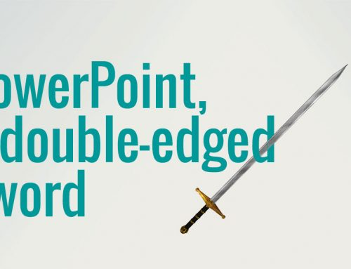 PowerPoint: a double-edged sword